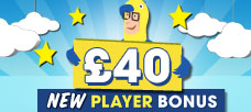 £40 New Player Bonus Mobile