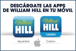 Apps de William Hill en tu movil