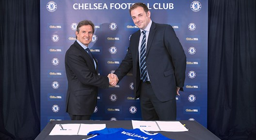 William Hill sign three-year betting partnership with Chelsea Football Club!