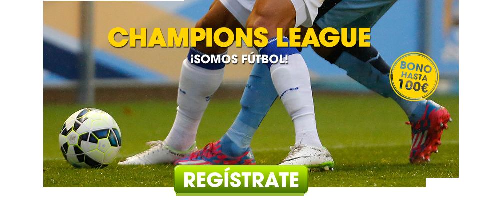 ¡Apuesta a la Champions League!
