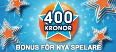400 kr welcome bonus