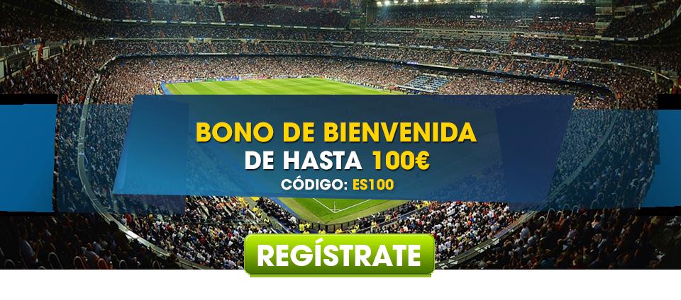 ¡Bono de Bienvenida de hasta 100€!