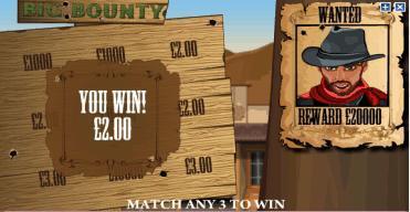 big bounty win