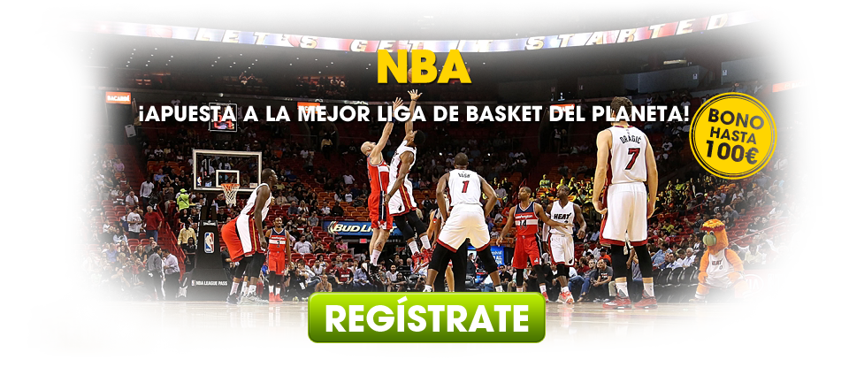 ¡Haz tus apuestas a la NBA!
