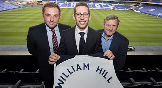 William Hill sign two year partnership with Tottenham Hotspur!