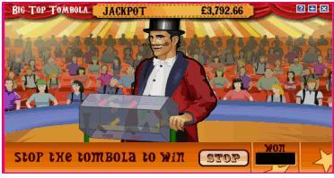 big top tombola bonus 1