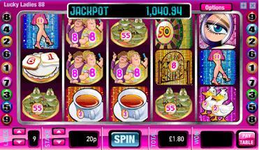 william hill online slots lucky lady charme