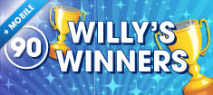 Play Willy's Winners