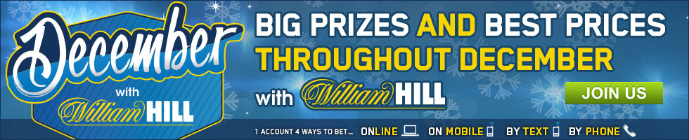 December with William Hill