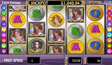 tarots fortune free spins