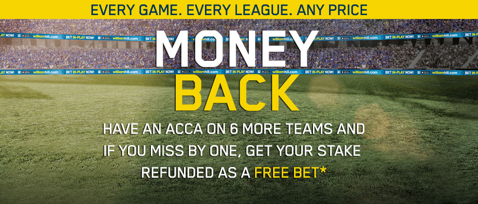 Acca Insurance free bets