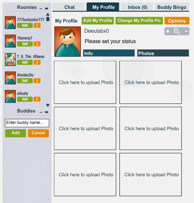 Upload Profile Photos